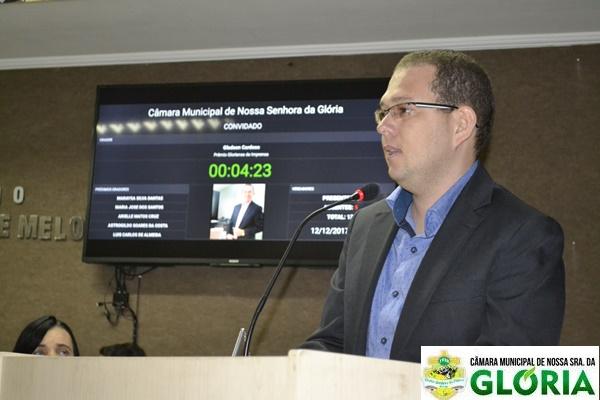 Gladson Cardoso, Empreendedor recebe homenagem e fala para os premiados
